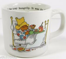 Coalport Paddington Bear child's china cup Eden Toys breakfast in bed marmalade