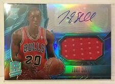 Tony Snell 2013-14 Panini Spectra Prizms LIGHT BLUE Refractor Jersey RC Auto /99