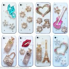 NEW BLING DELUX DIAMANTE SPARKLE HANDBAG CASE COVER FOR SAMSUNG iPHONE SONY HTC