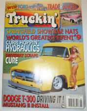 Truckin' Magazine Springfield Showtime Nats Dodge T-300 September 1993 041315R