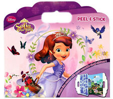 Sofia The first Peel and Stick Reusable Vinyl Stickers Board Stationery