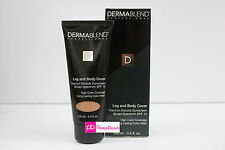 Dermablend Leg and Body Cover SPF15 3.4oz - Bronze - NEW in Box