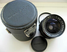 TESTED MAMIYA/SEKOR SX f2.8 35mm WIDE ANGLE LENS - PENTAX M42 - ADAPT DSLR M4/3