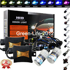 55W HID Xenon Conversion Kit Headlight Bulbs H1 H3 H7 H8 H11 9005 9006 880 881