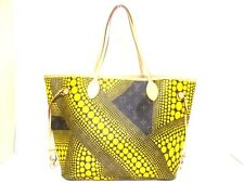 Authentic LOUIS VUITTON Neverfull MM Yayoi Kusama Collection Tote Bag TJ3142