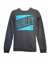 BRAND NEW HURLEY MENS GUYS CREW SWEATSHIRT TOP PULLOVER SHIRT BLOUSE FLEECE SZ L