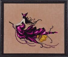 """SALE! COMPLETE XSTITCH KIT """"EVA NC224"""" Bewitching Pixies by Nora Corbett"""