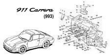 MANUALE OFFICINA PORSCHE 911 CARRERA (993) WORKSHOP MANUAL SERVICE AUTO CD