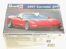 1/25 Revell 2001 Chevy Corvette Z06 Plastic Scale Model Kit Free World Shipping!