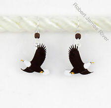 "Sienna Sky  ""Bald Eagles in Flight""  Earrings"