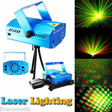 Multi Pattern - Sound Activated Laser Diwali Magic Stage DJ Light Disco Party
