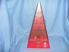 Advertising Tin Marks And Spencer Christmas Tree Musical Biscuit Tin Kitchenalia
