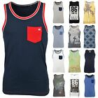 Men's New Summer Beach Holiday Muscle Tattoo Casual Fashion Vest Top T-Shirt