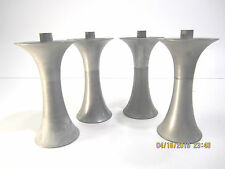Vintage MCM Aluminum Tulip Legs Set (4) Saarinen Style Table/Chair/Furniture
