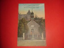 ZM84 Vtg PC The Old Church Miraculous Fountain Ste.Anne de Beaupre Quebec Canada