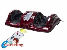 SHIATSU FOOT CALF MASSAGER KNEADING AND ROLLING LEG CALF ANKLE PRESSING MASSAGE
