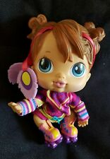 Baby Alive 6 inch CRIB LIFE DOLL - MaKayla Wearing Skate Outfit