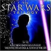 The Star Wars Trilogy - Music from the films ,Good used  CD