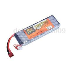 11.1V 3S1P 5000mAh 30C Lipo Battery T Plug For RC Helicopter/Airplane/Car/Truck