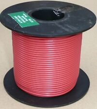 Large Cable Reel 9/0.3mm (0.65mm²) 5 Amp Red 50M