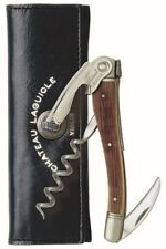 Chateau Laguiole™ Waiter's Corkscrew, Oak Barrel
