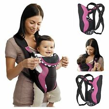 Backpack Infant Baby Toddler Front Carriers Secure Breathe Soft Sling Pink New!