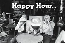 HAPPY HOUR - BIG BEER FUNNY POSTER - 24x36 DRINKING 10775