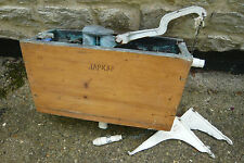 VINTAGE JAPKAP TOILET CISTERN WITH BRACKETS