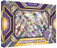 POKEMON TCG MEWTWO EX COLLECTOR'S BOX
