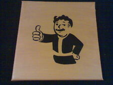 Fallout - Vault Boy A Painting On Canvas By R. McCutcheon
