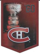 NHL Panini 2012 Coors Light Stanley Cup Collection Montreal Canadiens 1960