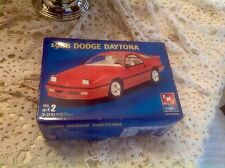 AMT / ERTL - 1988 DODGE DAYTONA - (3 'N 1) MODEL KIT IN ORIG OPENED BOX