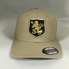 Navy Seal Team 6 Devgru Gold Team Flexfit Hat Yupoong Wool Blend 6477 Cap Khaki