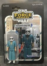 Custom Star Wars The Force awakens First Order Stormtrooper Day Off Figure jedi