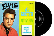 "ELVIS PRESLEY - IN THE GHETTO - 7"" 45 VINYL RECORD PIC SLV"