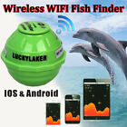 Brand Lucky Sonar Wireless WIFI Fish Finder 50M/130ft For IOS Iphone5s,6,Android