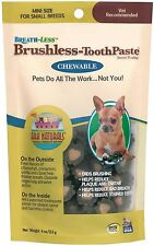 Ark Naturals Brushless Toothpaste- Mini (Cats & Dogs) 4oz NEW Sealed