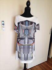 BARGAIN SALE! Unique US Designer CLOVER CANYON Super Cool Dress Size M UK10/12