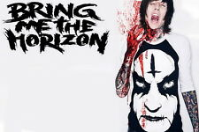 "013 Bring Me The Horizon - BMTH Metalcore Band Oliver Sykes 21""x14"" Poster"