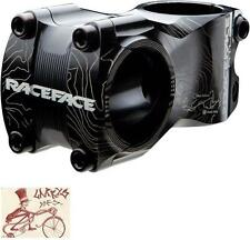"RACE FACE ATLAS 50MM REACH--31.8MM  +/-0 DEGREE BLACK 1-1/8"" BICYCLE STEM"