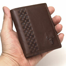 Slim Wallets For Mens Leather Credit Card Holer Man Purse Compact Design