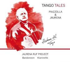 """Jaurena Ruf Project - Tango Tales-Piazzolla&Jaurena """"Historia Del Tango"""" - CD"""