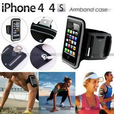 BLACK Running GYM Armband Case For Apple iPhone 4 4S iPhone 3 3G