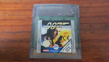 007  THE WORLD IS NOT ENOUGH            -----   pour GAME BOY COLOR  ----