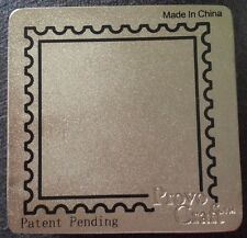 Cuttlebug Metal Die Cutter SQUARE STAMP FRAME  fits Sizzix Big Shot Wizard