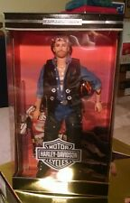 1999 HARLEY DAVIDSON BARBIE - KEN DOLL Mint in box Leather Jacket Chaps Rw7