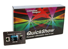 Láser Designer Pangolin Quickshow 3.0 con Flashback 4 standard Interface, fb4