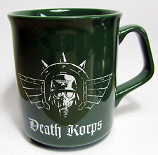 Warhammer 40k Forge World Death Korps of Krieg Mug New Event Only Imperial Guard