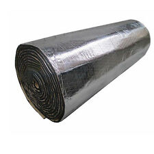 2Roll Car Sound Proofing Deadening Insulation Heat 10mm Foam Glass Fibre