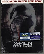 X-MEN: FIRST CLASS BLU-RAY DIGITAL HD STEELBOOK BEST BUY EXCLUSIVE BRAND NEW